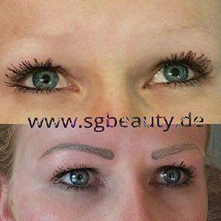 Permanent Make-up in Ulm. Die Härchentechnik zaubert dir realistische Augenbrauen.